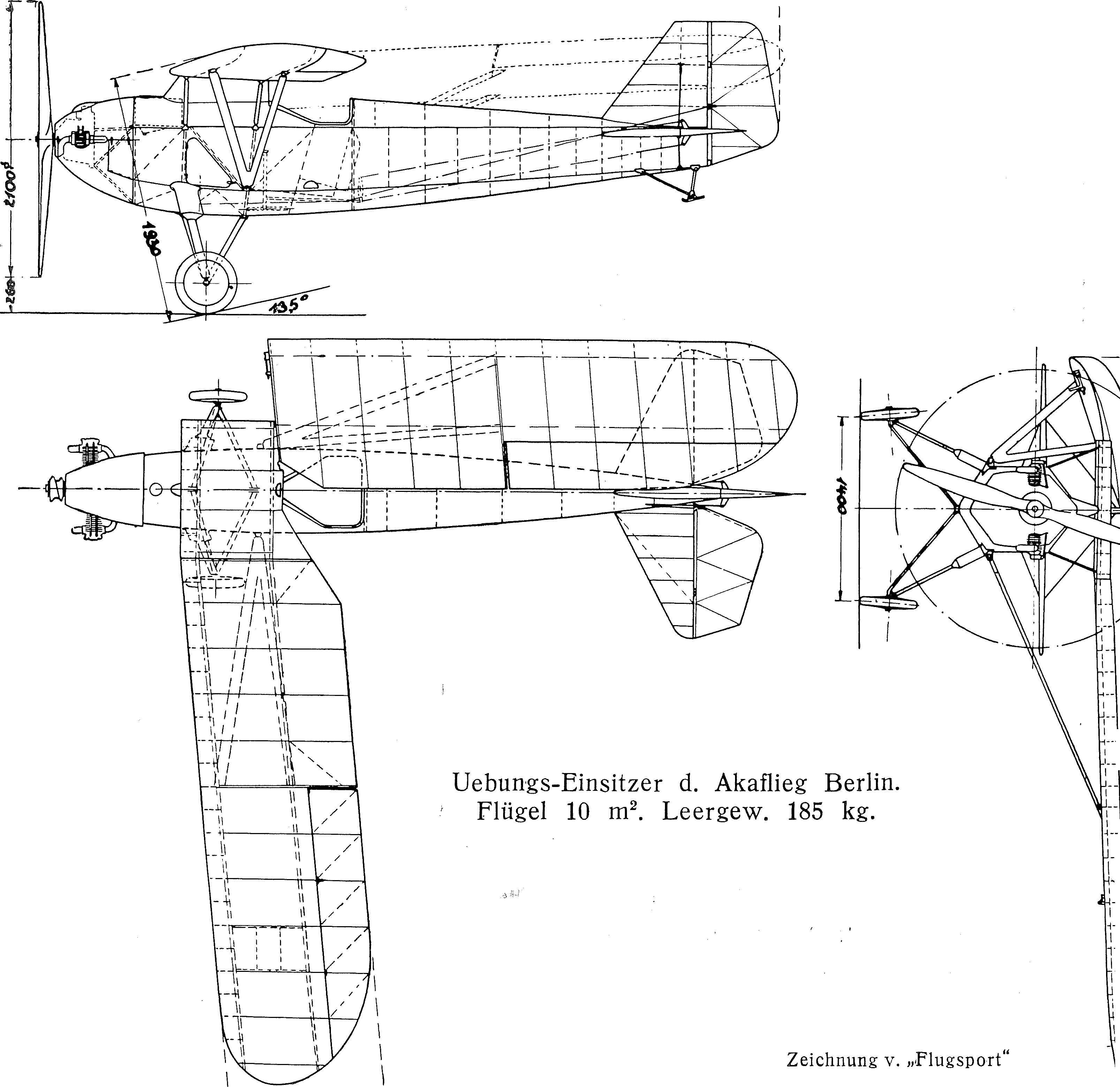 Segelflug, Motorflug und Modellflug sowie Luftfahrt und Luftverkehr im Deutschen Reich (Weimarer Republik) im Jahre 1932