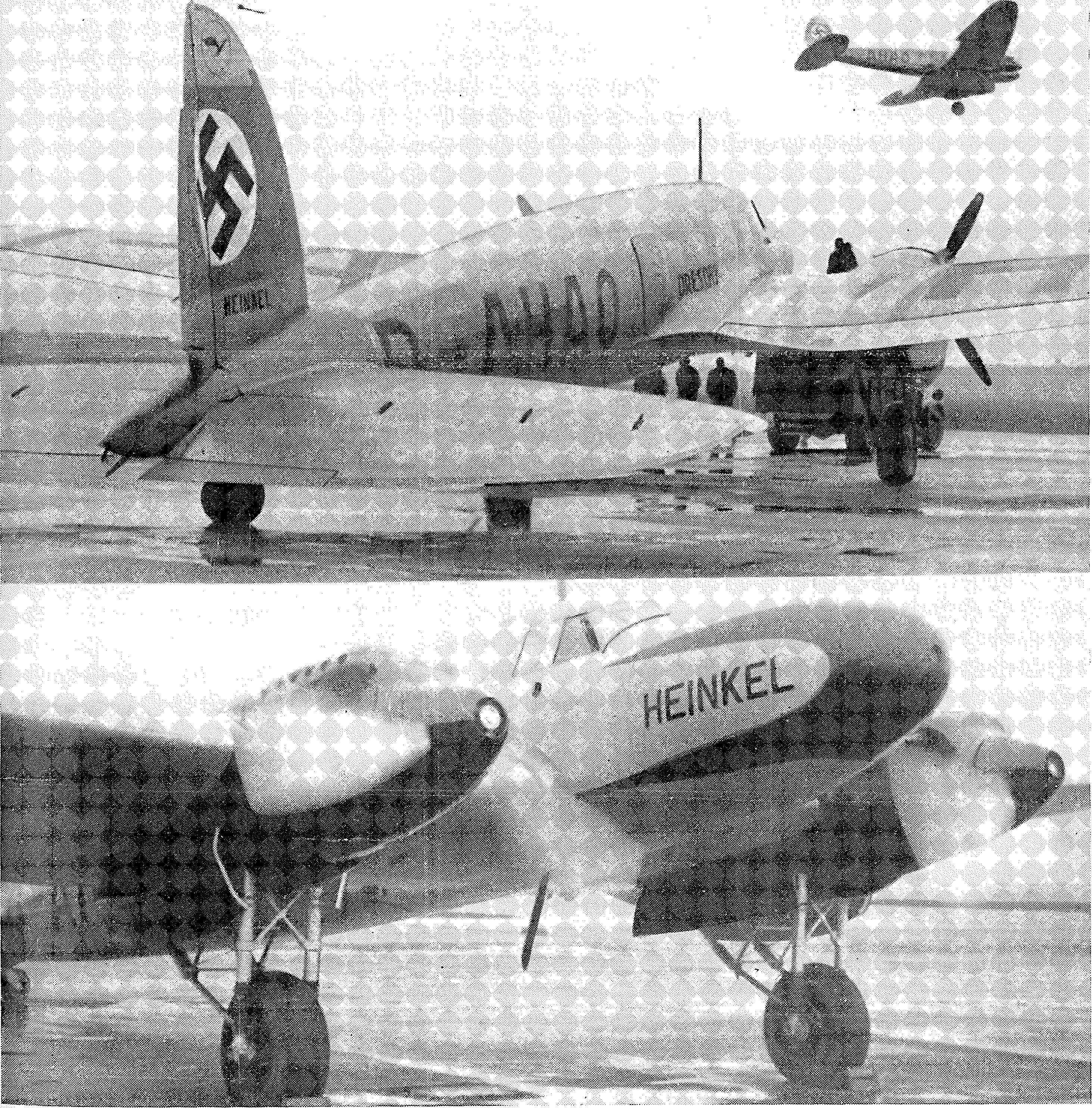 Luftfahrt und Luftverkehr sowie Luftwaffe im Dritten Reich 1936