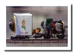 360° Grad Video Kamera Kodak PixPro SP360 4K Action Cam und Kodak PixPro SP360 Action Cam bzw. Kodak Orbit360 4K PixPro - Making of Google Street View und Google Maps im Miniatur Wunderland