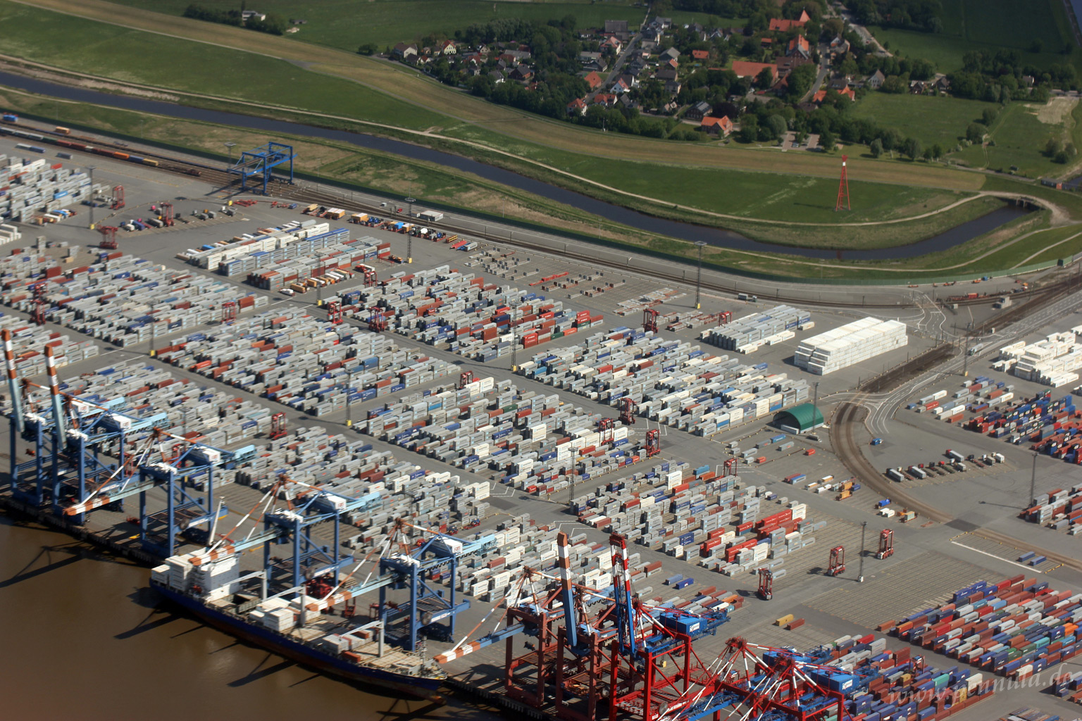 Das North Sea Terminal in Bremerhaven