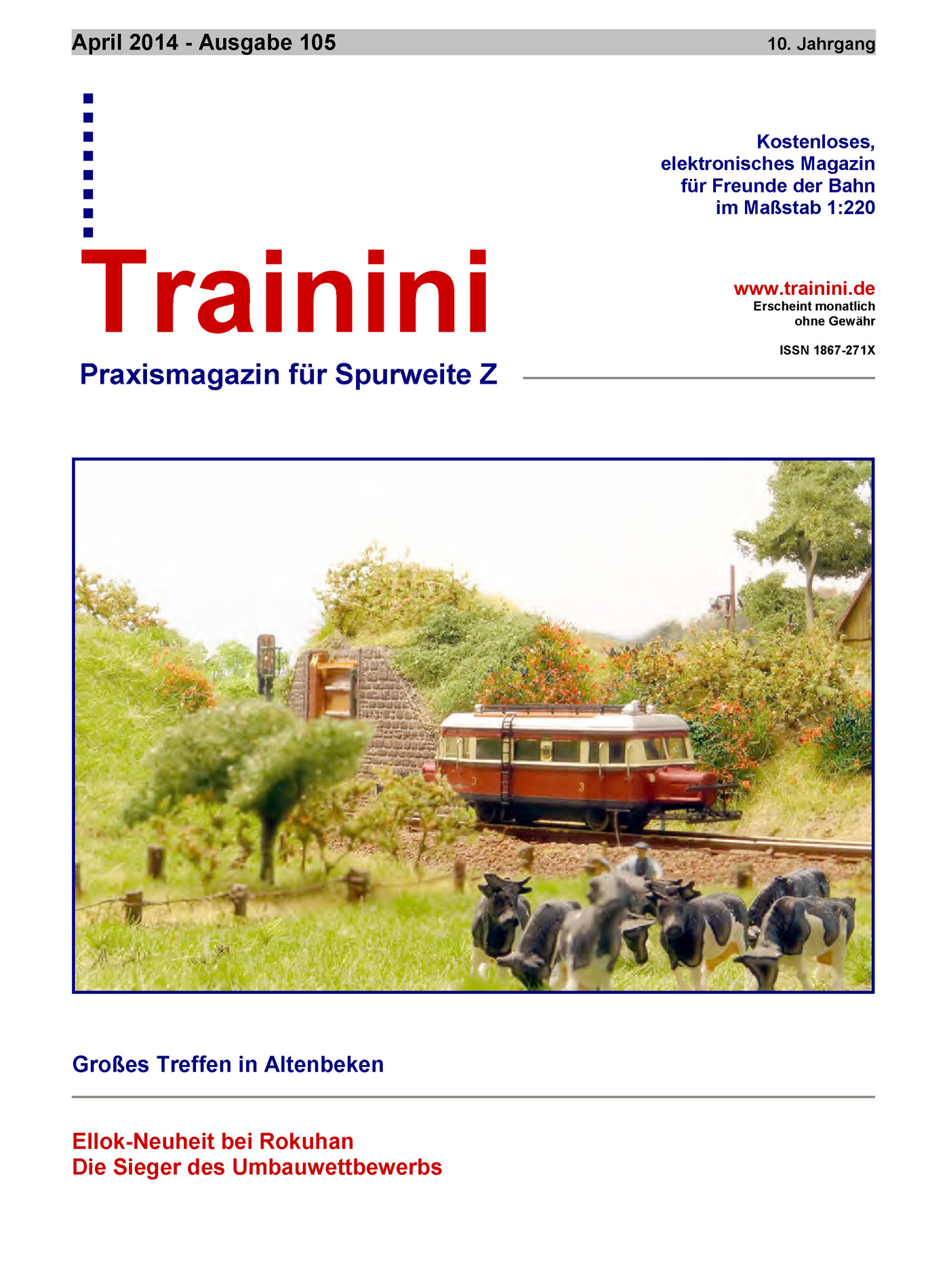 Trainini Ausgabe April 2014