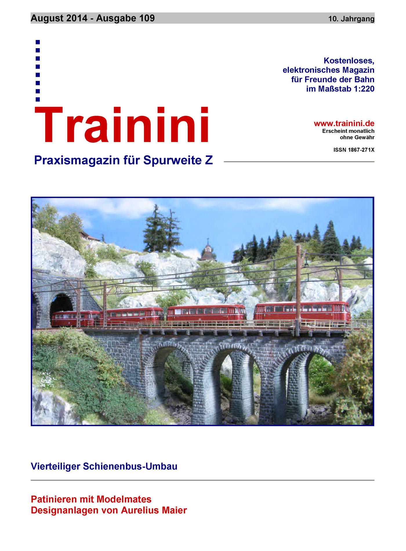 Trainini Ausgabe August 2014