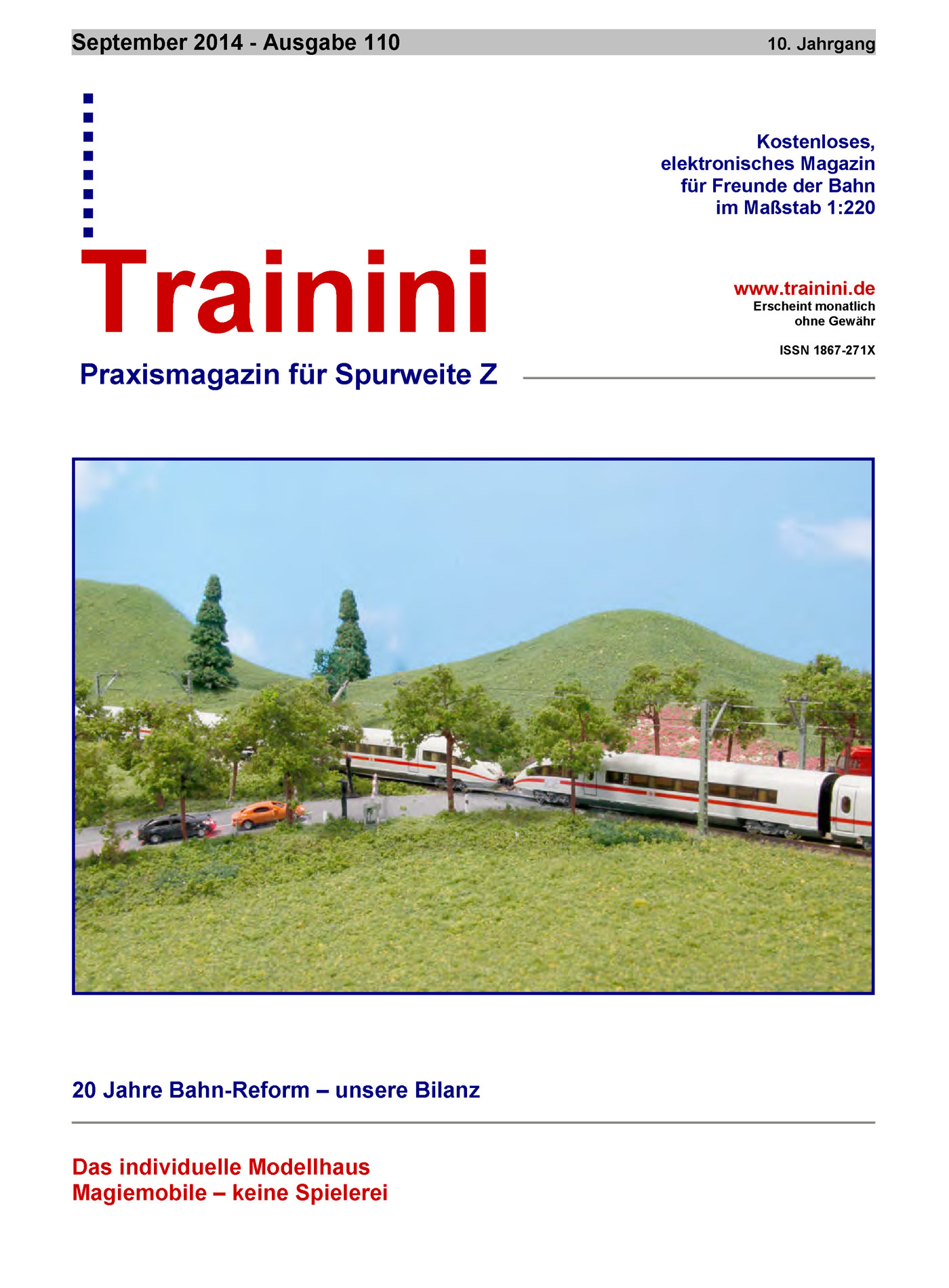 Trainini Ausgabe September 2014