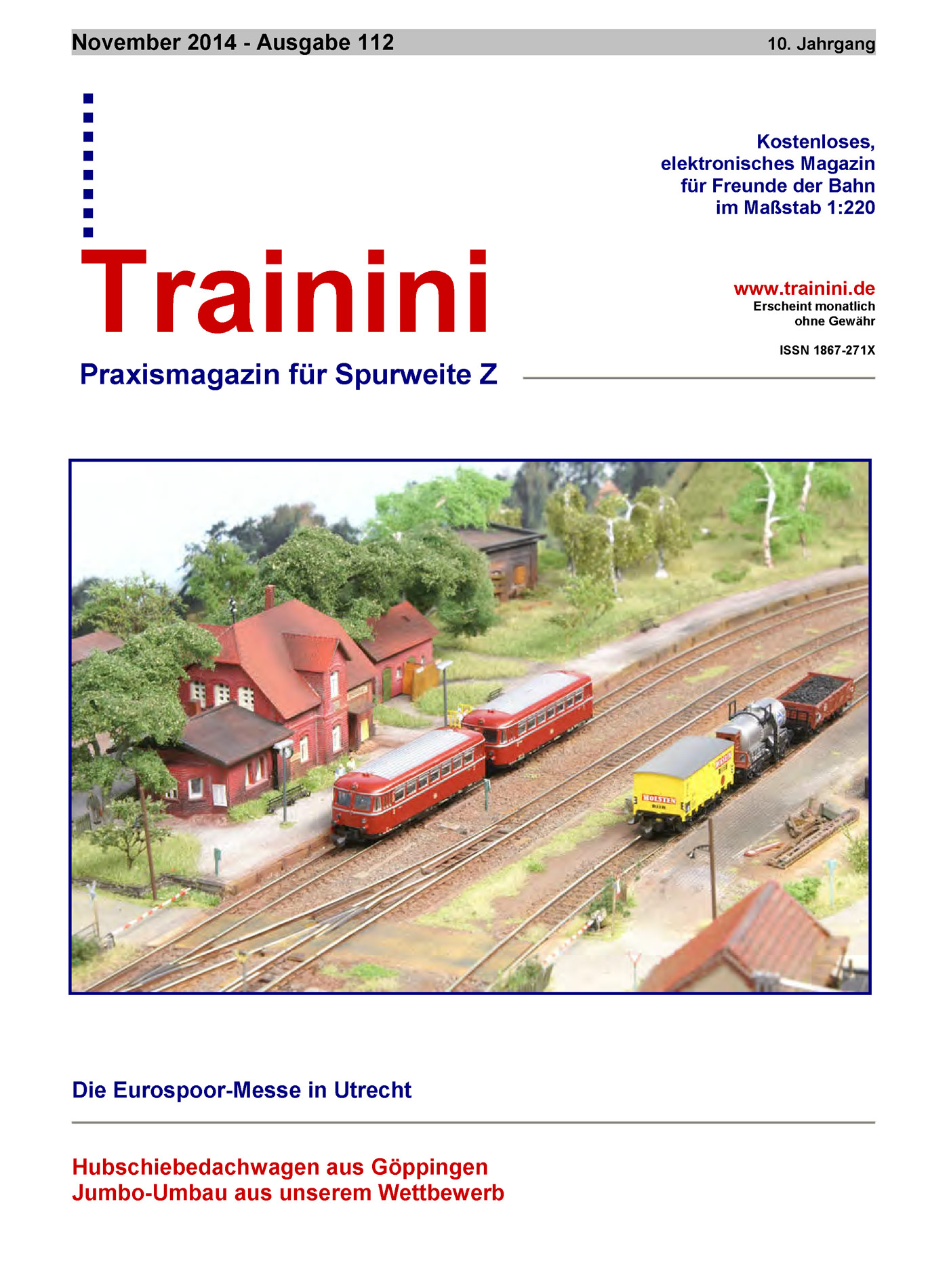 Trainini Ausgabe November 2014