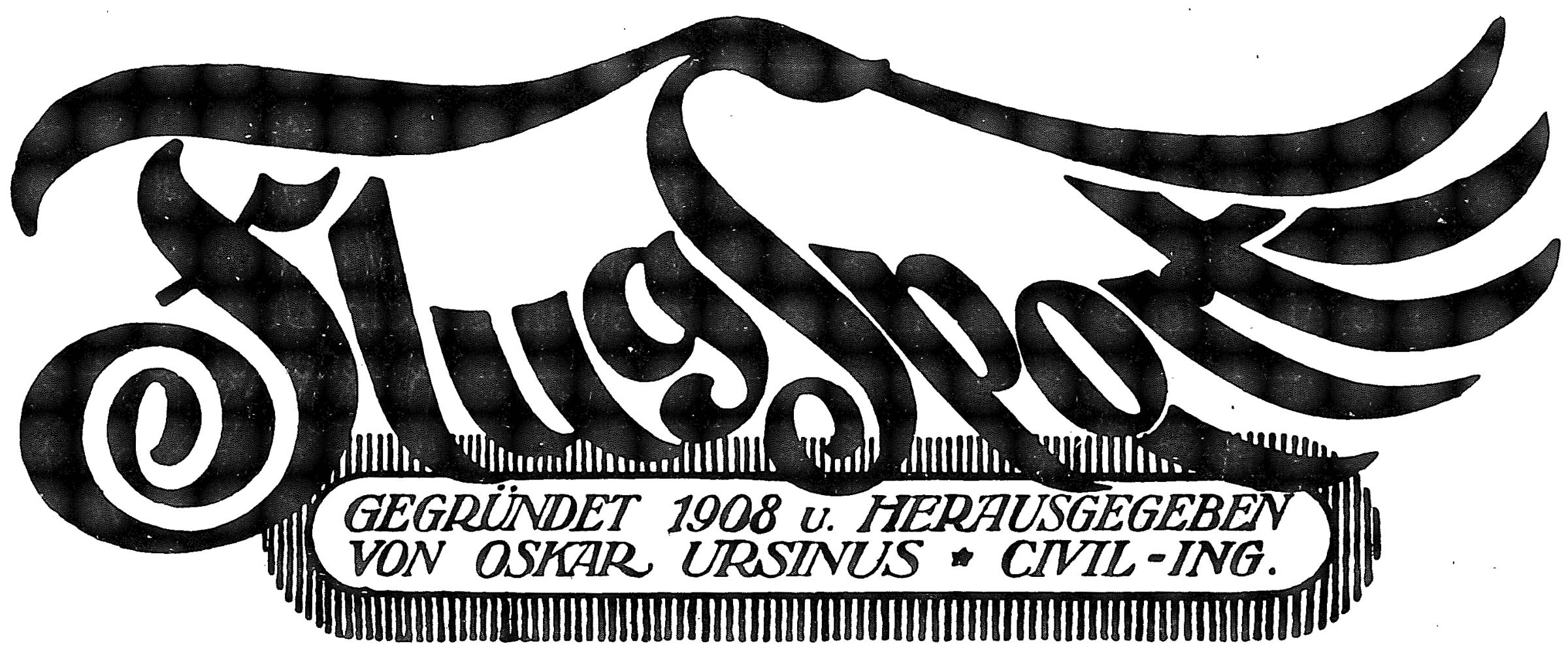 Online-Archiv der Zeitschrift Flugsport